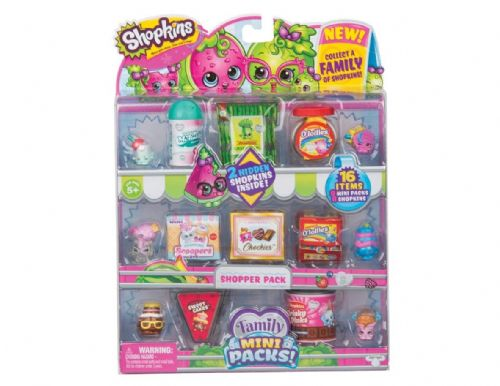 Shopkins New Families in Collectible Mini Pack - 16 Piece  (product may vary)